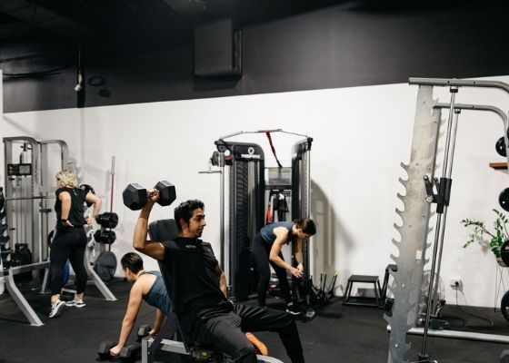 People working out at Activate Health and Fitness Gym