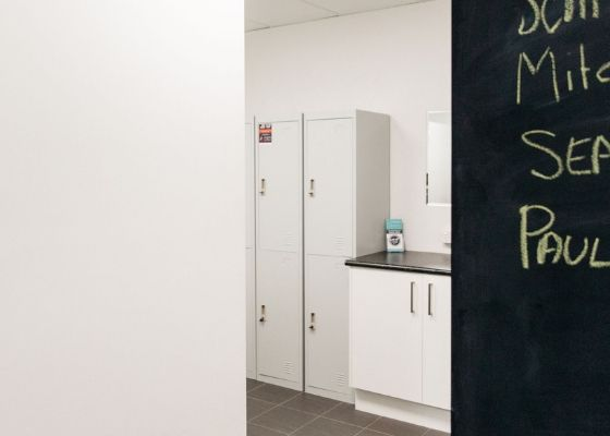 Shower and locker facilities at Activate Health and Fitness Gym